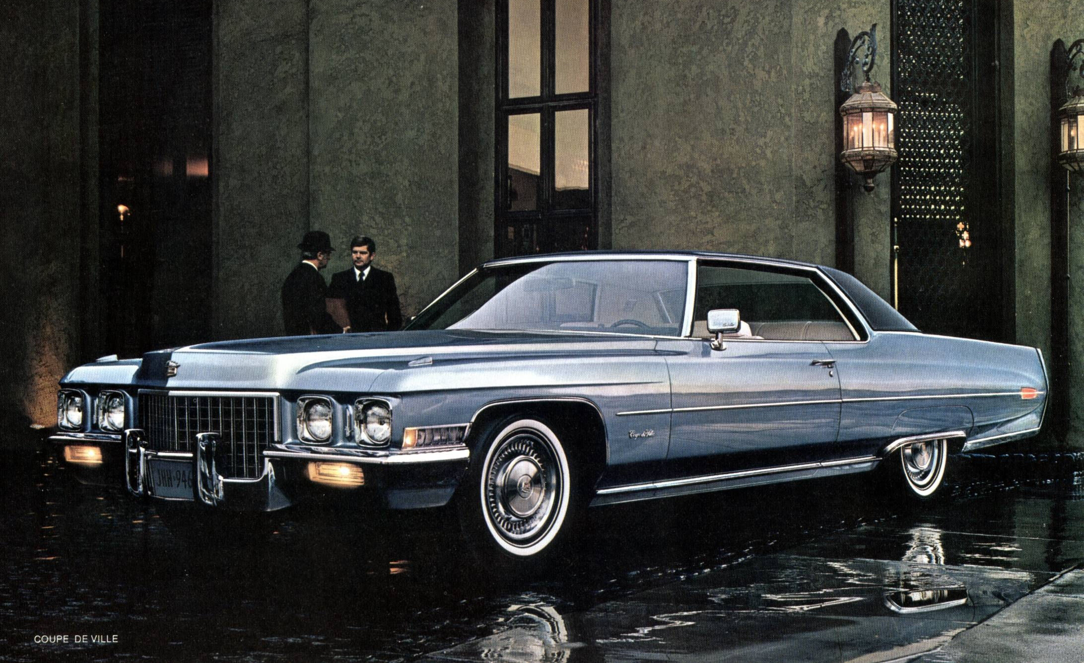 the 1971 Chevrolet Caprice. As you can see in the ad above, Chevrolet