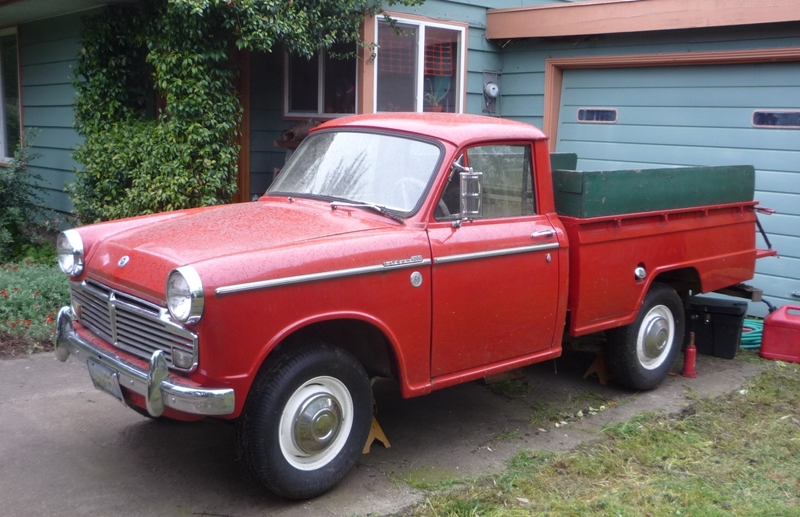 Curbside Classic 1977 Datsun King Cab Pickup 620 Yes
