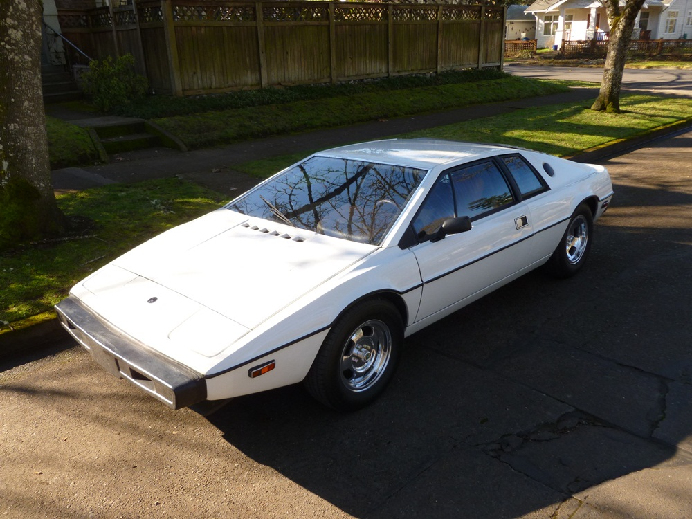 curbside classic 1977 lotus esprit s1 giorgetto giugiaro takes up origami. Black Bedroom Furniture Sets. Home Design Ideas