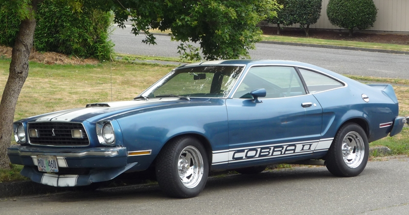 Curbside Classic: 1976 Mustang II Cobra II – Ford's Deadly ...