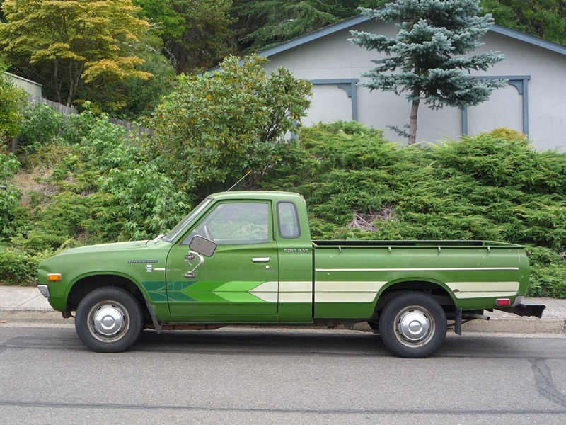 Curbside Classic: 1977 Datsun King Cab Pickup (620) – Yes, We Have ...