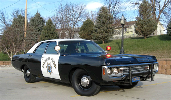 Curbside Classic 1978 Plymouth Fury Ex Cop Car I D
