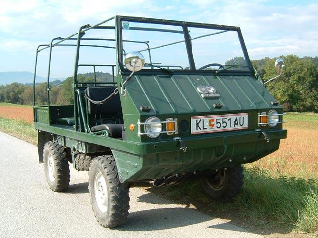CC Capsule: Steyr-Puch Pinzgauer – Jeep, Austrian Style