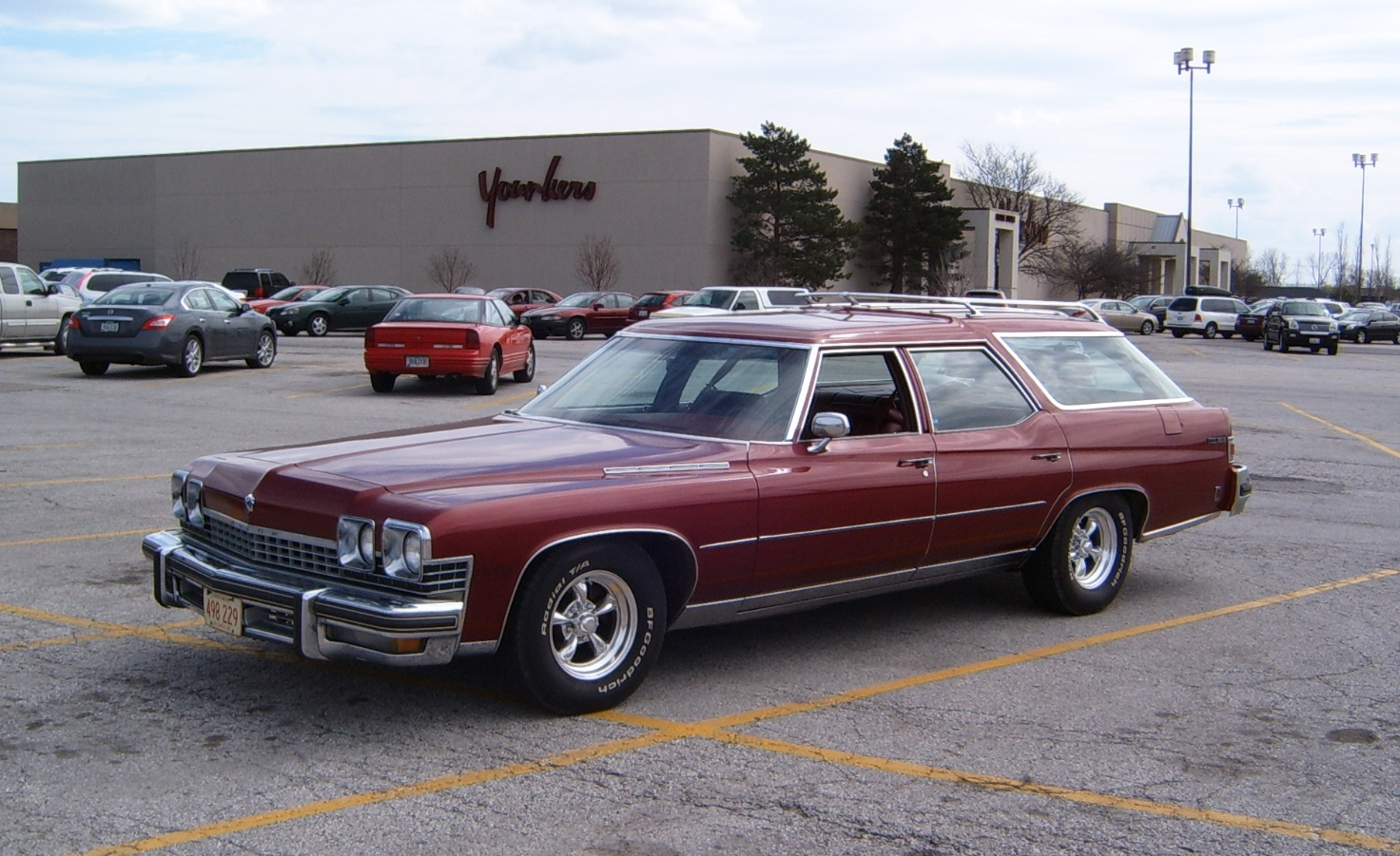 Curbside Classic: 1974 Buick Estate Wagon – Hold The Fake ...