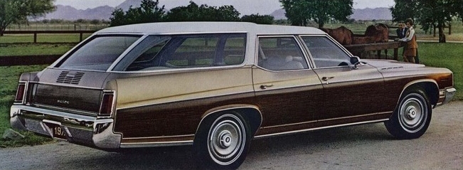 Estate Wagon Wood Sides on 1971 Buick Estate Wagon