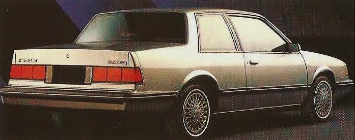 87 chevrolet celebrity 1989