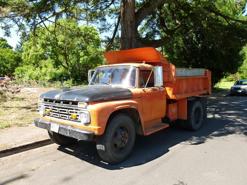 Curbside Classic 1964 Ford F600 Dump Truck Still Hard