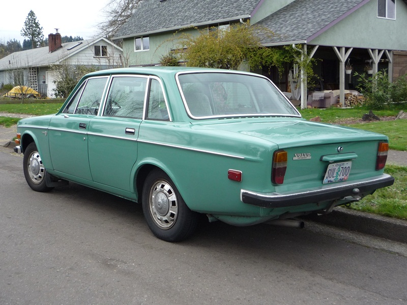 Curbside Classic 1972 Volvo 144e Volvo S Blueprint For
