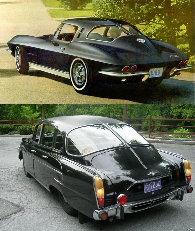 1963 Corvette Sting Ray Split Window Fastback And Where