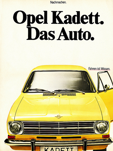 classic curbside classic 1966 1973 opel kadett b it dethroned the volkswagen. Black Bedroom Furniture Sets. Home Design Ideas