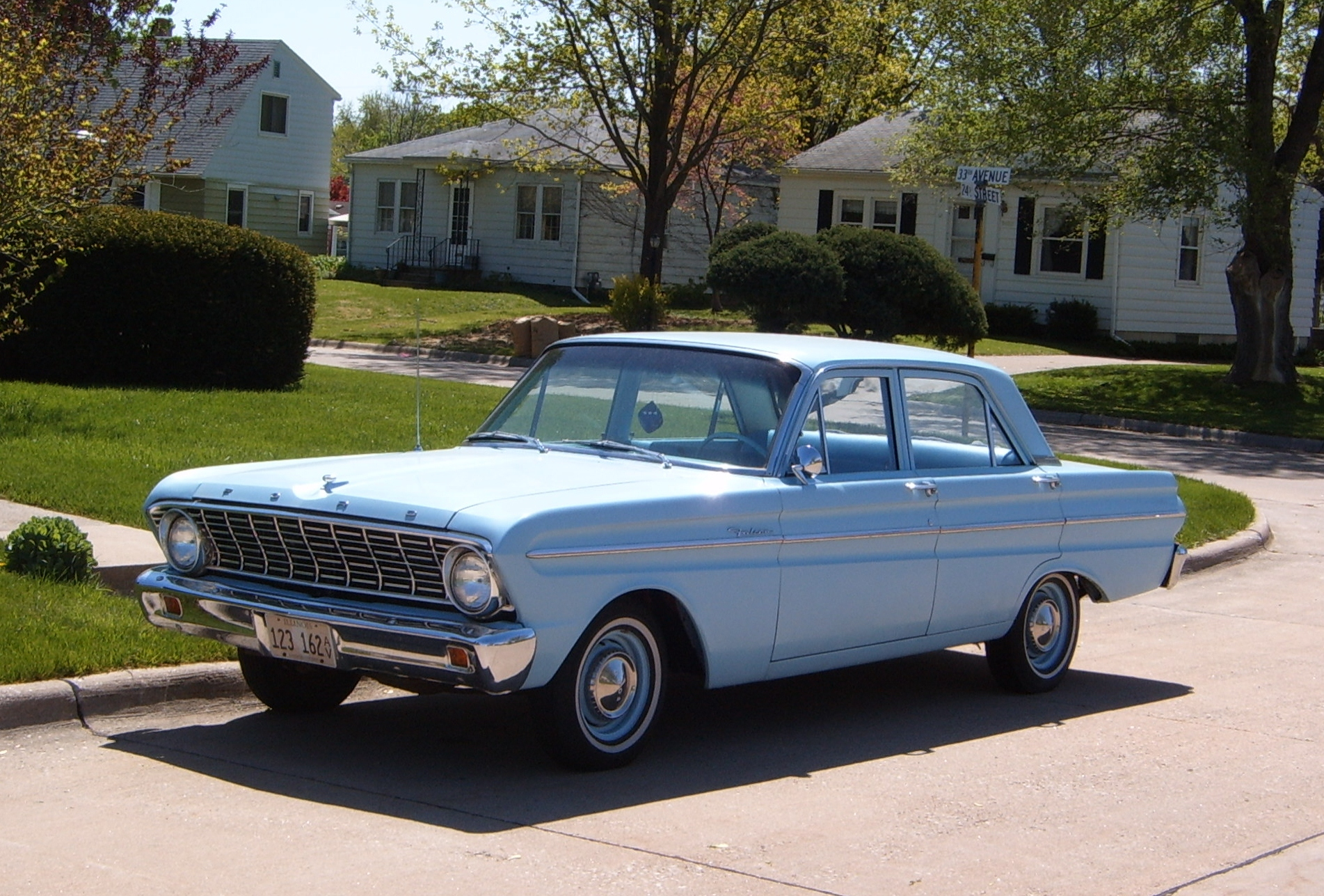 Curbside Classic 1964 Ford Falcon Plain And Simple