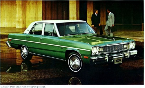 Curbside Classic 1976 Plymouth Valiant Brougham Least