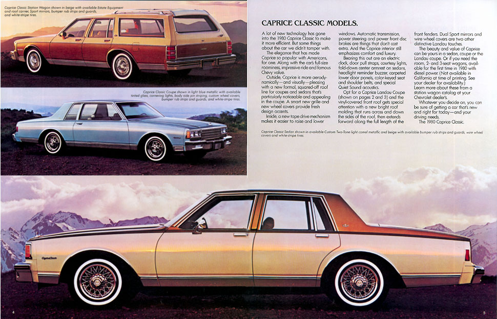 ... Classic: 1980 Chevrolet Caprice Classic – It's The NEW Chevrolet