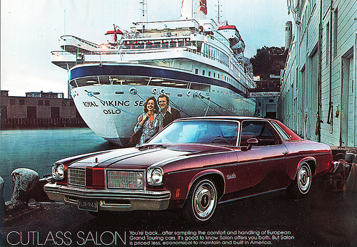 The colonnade cutlass cult and have i escaped it for 75 cutlass salon