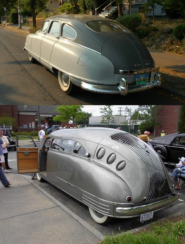 The 1935 Stout Scarab Reappears Fifteen Years Later As The Nash ...