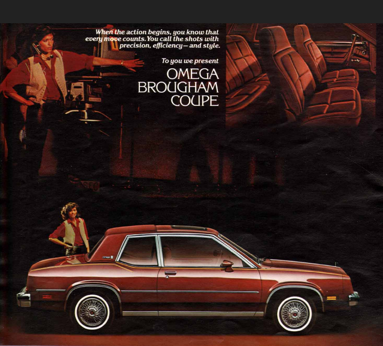 Cohort Classic 1981 Oldsmobile Omega X Marks The Spot