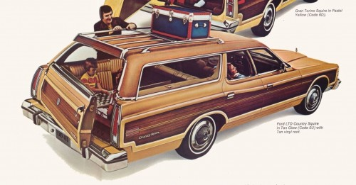 curbside classic 1975 ford country squire the car that made di noc millions. Black Bedroom Furniture Sets. Home Design Ideas