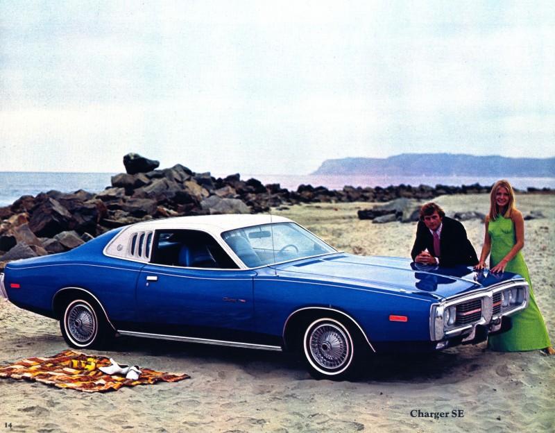 Cohort Classic 1972 Dodge Charger Se Blind Spot What