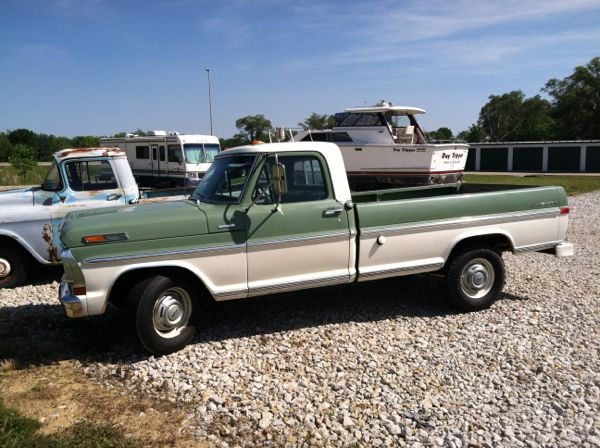 This sharp 1970 Ford F-250 Sport Custom Camper Special (sorry, not the