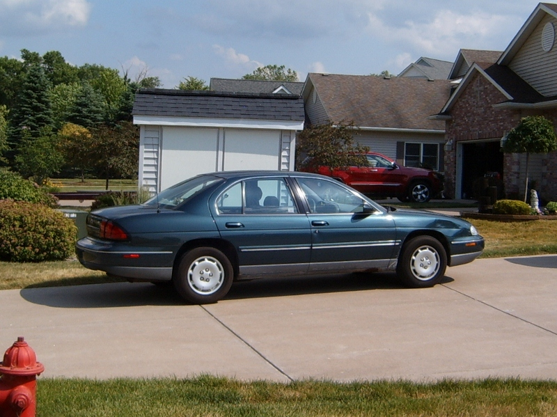 X on 94 Chevy Lumina Z34