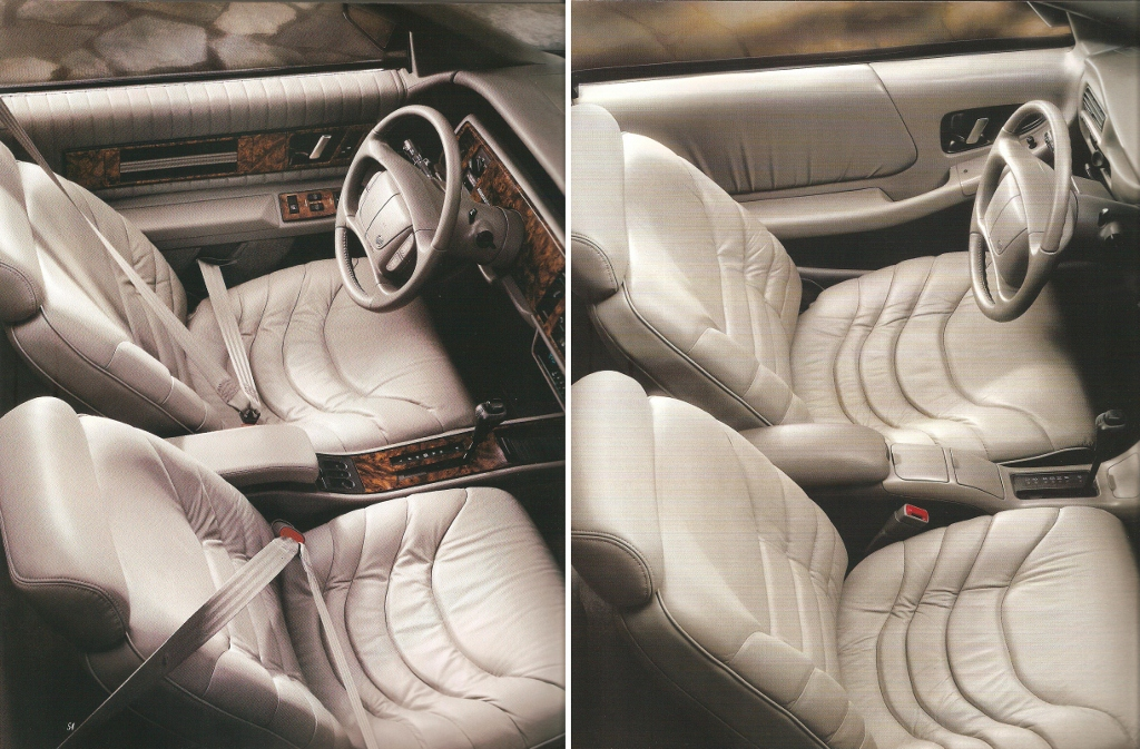 The '95 Interior Shown on