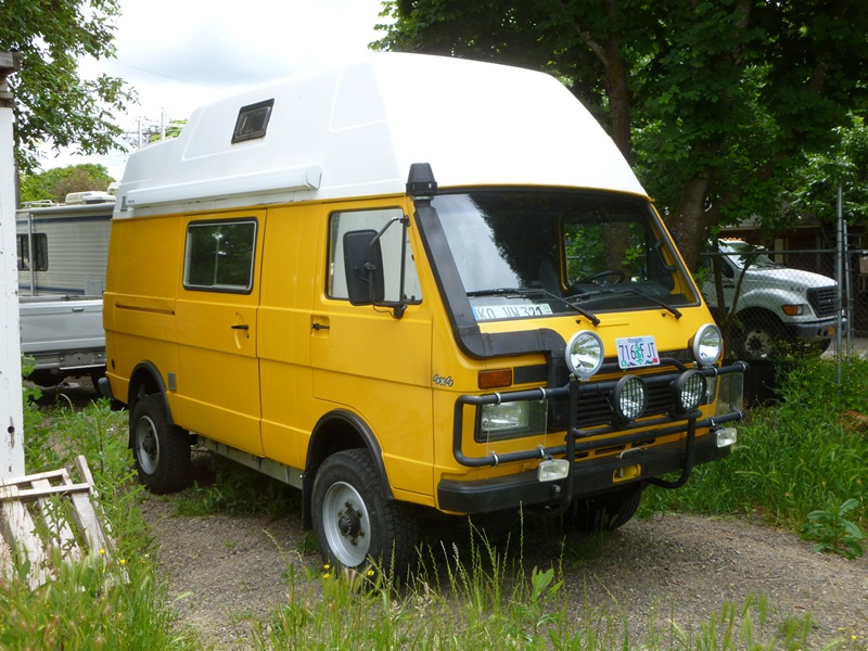 Curbside Classic 1990 Vw Lt 4 215 4 Westfalia Camper The