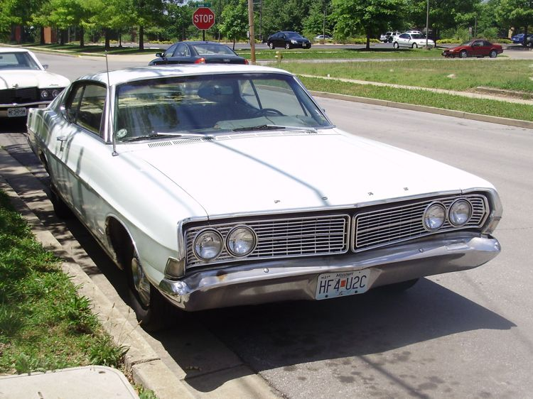 curbside classic 1968 ford galaxie 500 always ready to roll. Cars Review. Best American Auto & Cars Review