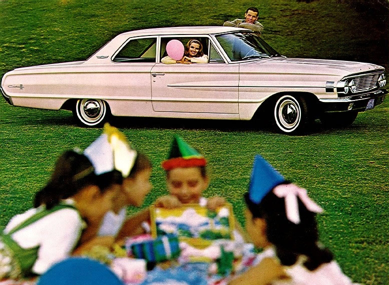 Curbside Classic 1964 Ford Galaxie 500 Say Goodbye To