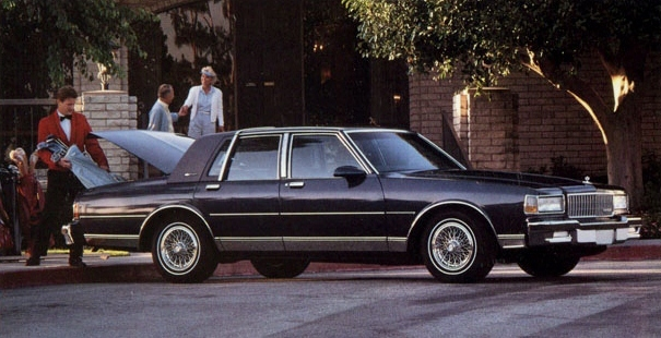 Curbside Classic 1990 Chevrolet Caprice Classic Brougham