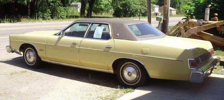 1978 mercury marquis brougham