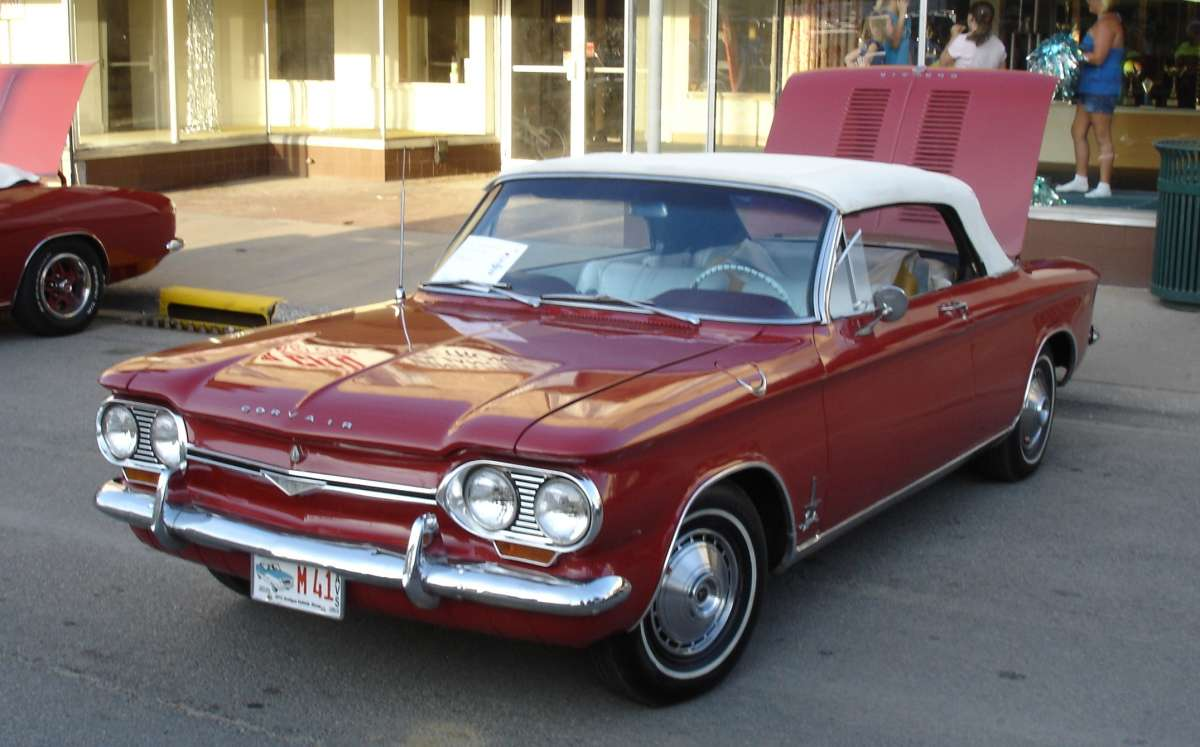 Curbside Classic: 1964 Chevrolet Corvair Monza Spyder – Activate The ...