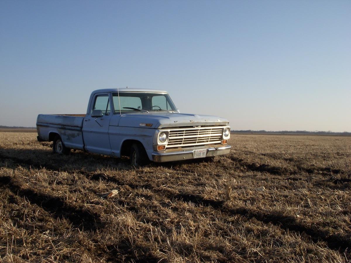 camioneta de campo