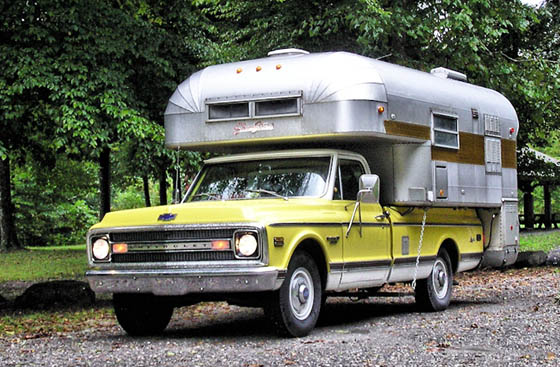 Avion Cabover Camper >> Curbside Classic: 1969 Chevrolet C20 Custom Camper – A Novel Way to Do the U.S.A.