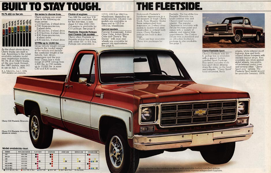 78 Chevy Pickup Trucks 939 x 601