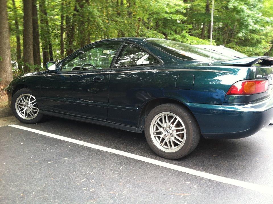 My Curbside Classic Acura Integra Not Just A Fancy Honda - Acura integra 97