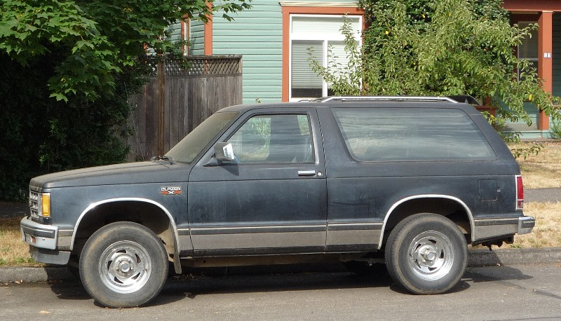 Classic Curbside Classic: 1985 Chevrolet S-10 Blazer – GM ...