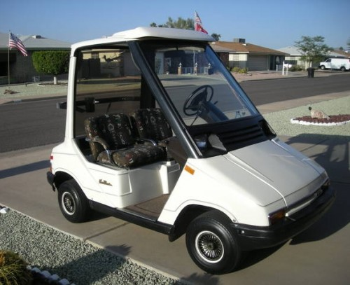 Fairway classic yamaha g 5 sun classic the brougham for Yamaha golf cart repair near me