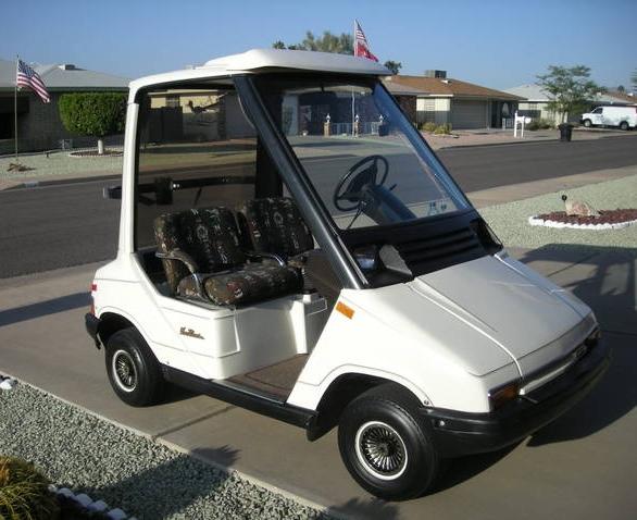 Yamaha G Sun Classic Golf Cart