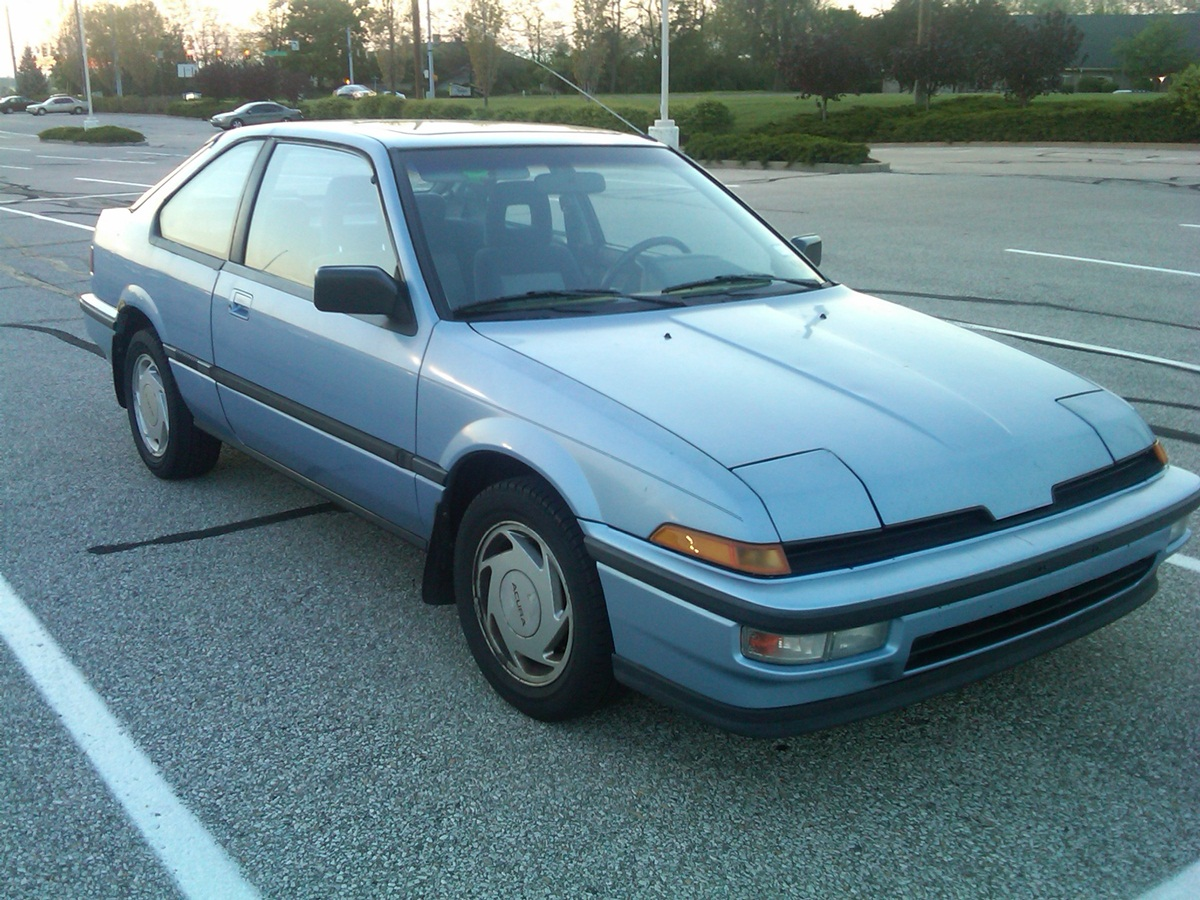 Curbside Classic 1989 Acura Integra Ls A Hot Hatch For The Civic Minded Curbside Classic