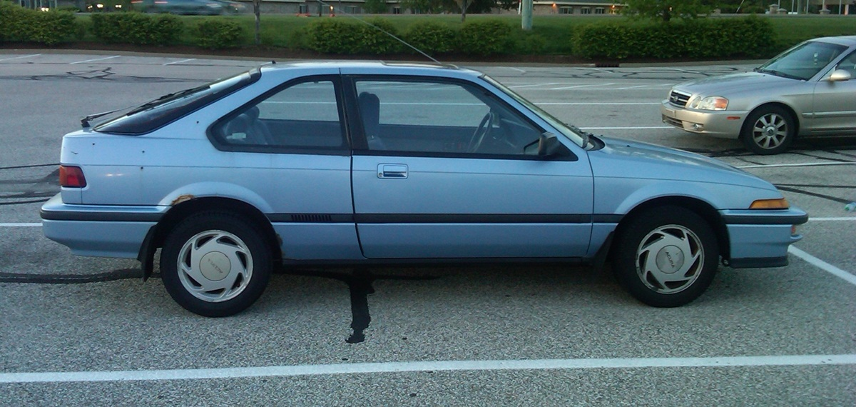 curbside classic 1988 acura integra ls a hot hatch for. Black Bedroom Furniture Sets. Home Design Ideas