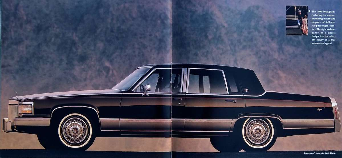 ...can we talk about Cadillacs for a minute... 1991-Brougham