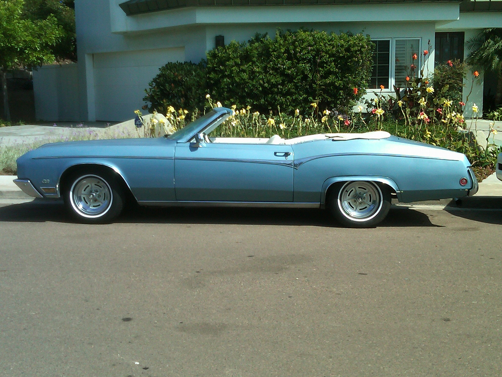 Cohort classic 1970 buick riviera gs roadster sawzall edition sans top