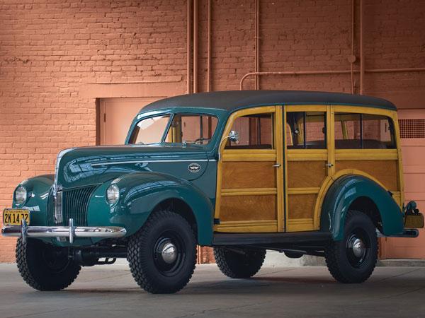 1940 Marmon Herrington Ford 4 215 4 Woodie Wagon The Jeep