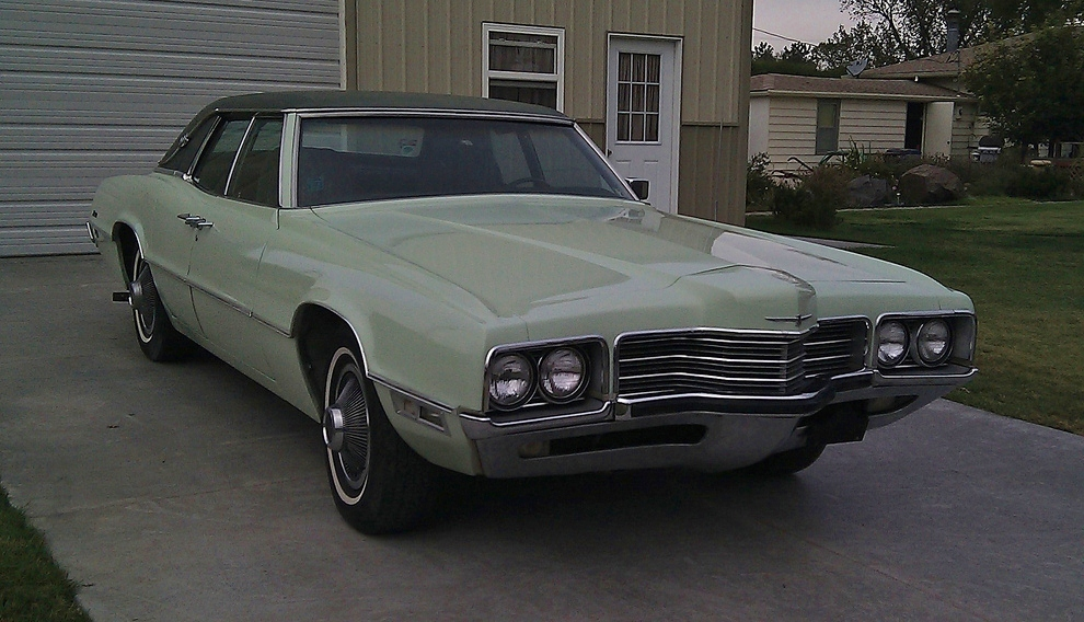 Curbside Classic: 1971 Ford Thunderbird Four Door Landau – Yes, I ...