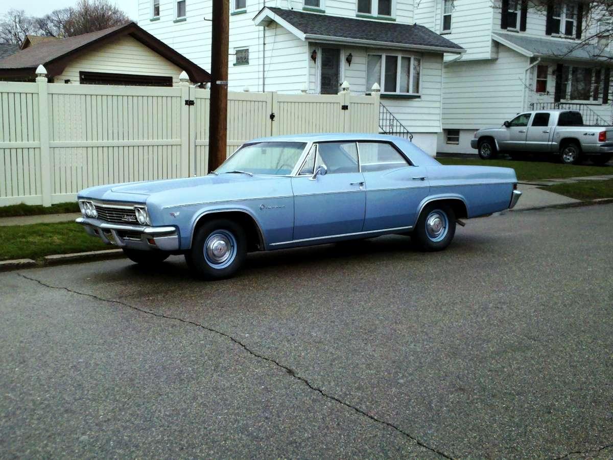 My Curbside Classic 1966 Chevrolet Impala  It Was Grandpas Car