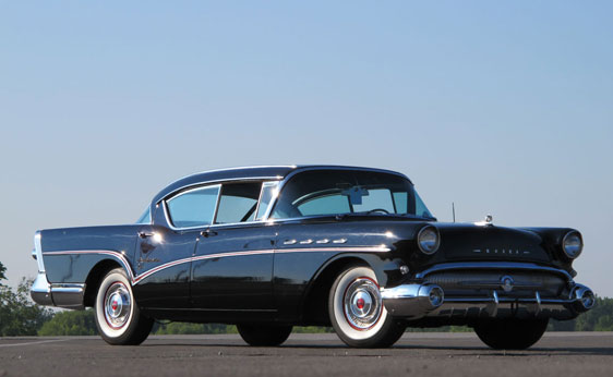 1957 Buick Roadmaster Riviera Master Of The Road And Of
