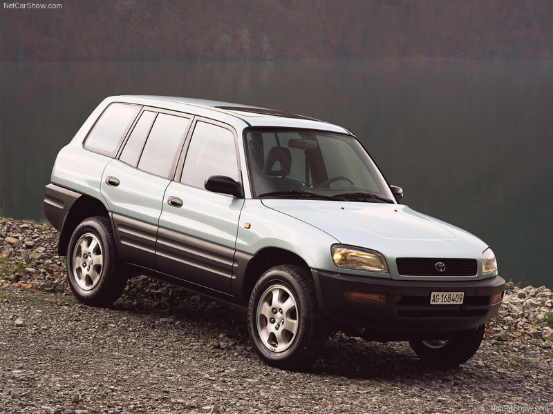 curbside classic 1998 toyota rav4 two door the first. Black Bedroom Furniture Sets. Home Design Ideas