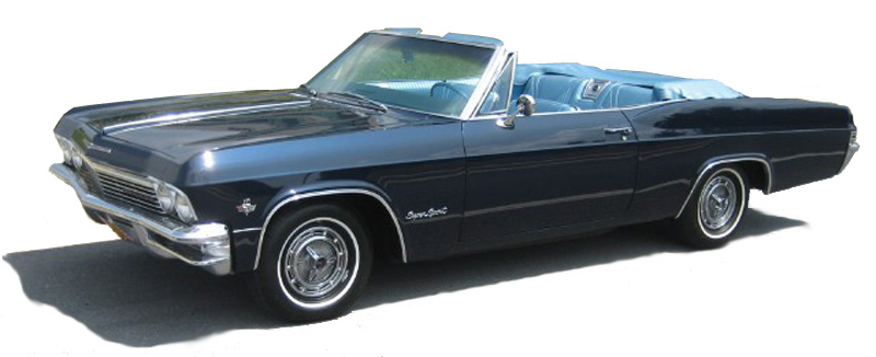 comg cars of my girlfriends 1965 chevy impala convertible
