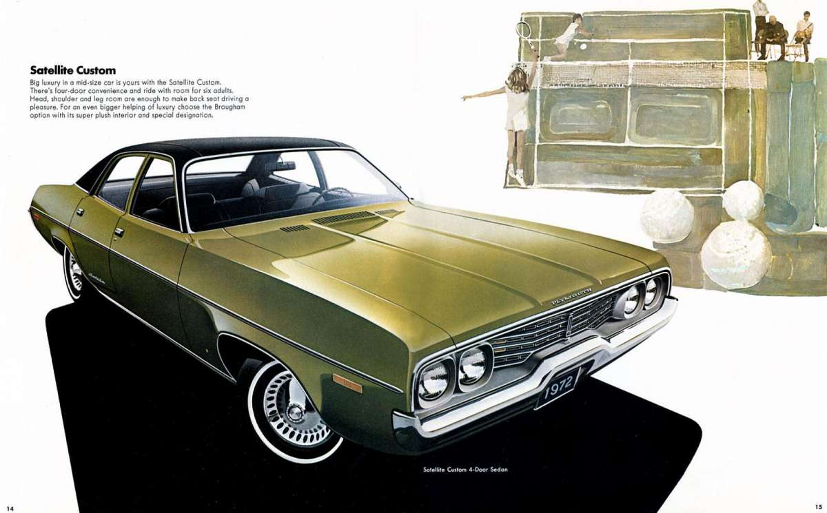 1971 Plymouth Satellite 4 Door http://www.curbsideclassic.com/curbside-classics-american/curbside-classic-1972-plymouth-satellite-custom-the-good-the-bad-and-the-ugly/