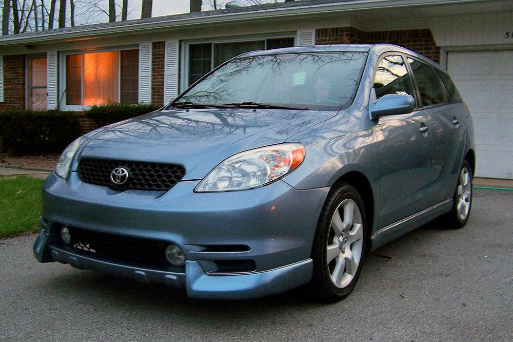 Тойота матрикс фото 2003